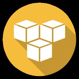 3Hub flat icon