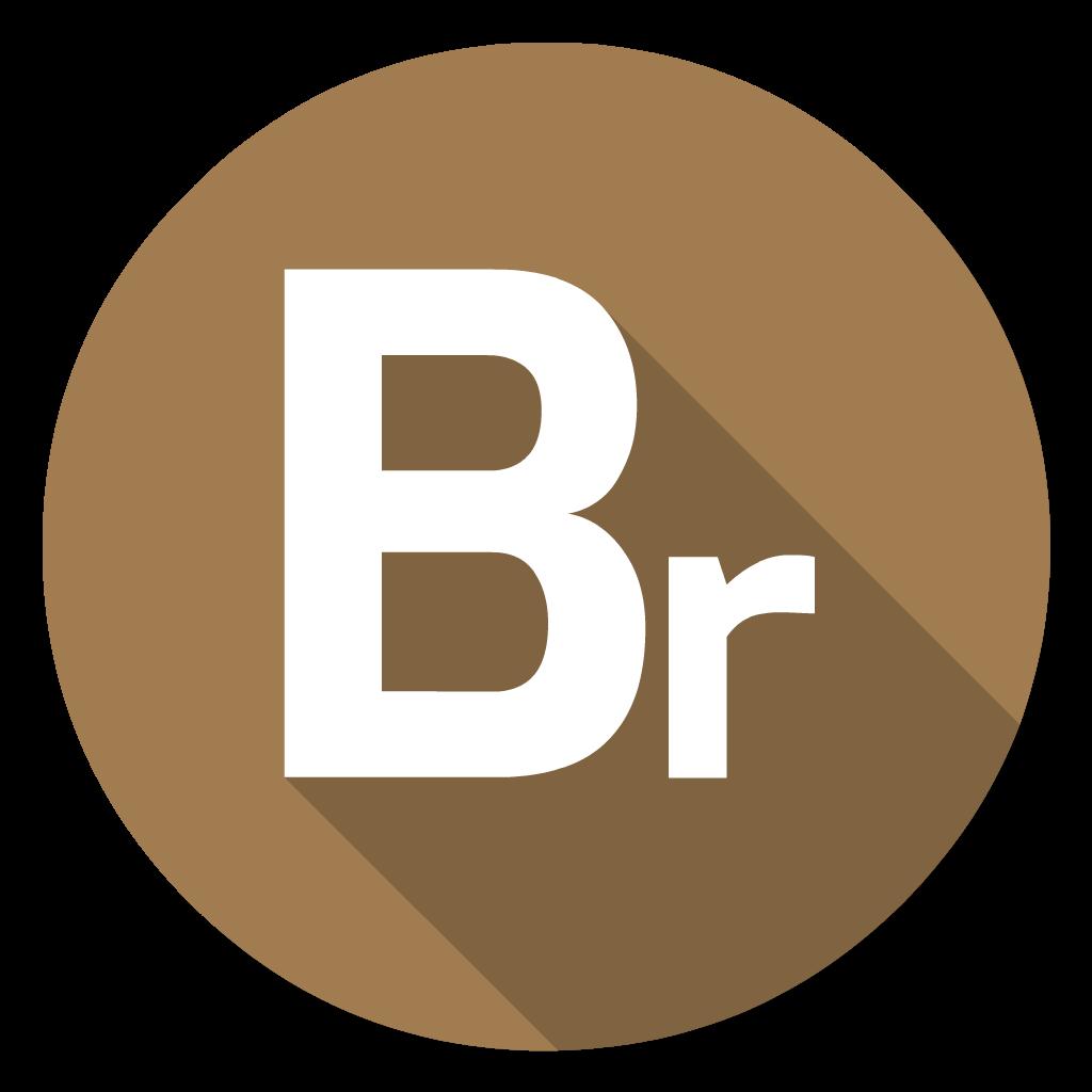 Adobe Bridge flat icon