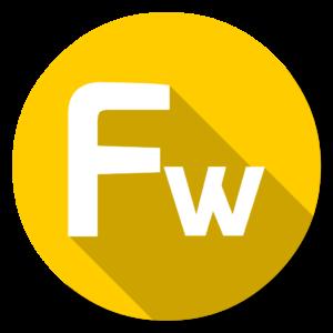 Adobe Fireworks flat icon