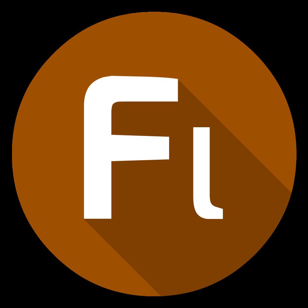 Adobe Flash flat icon