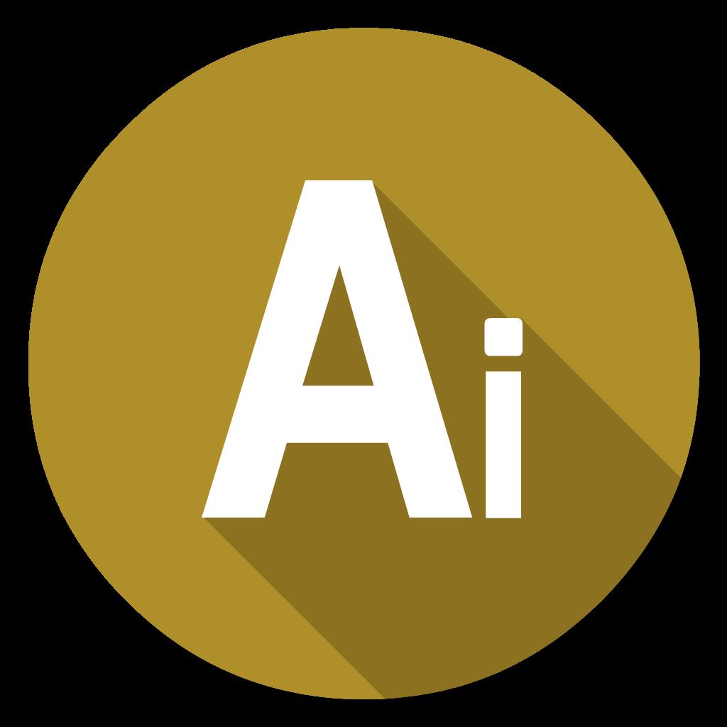 Adobe Illustrator flat icon