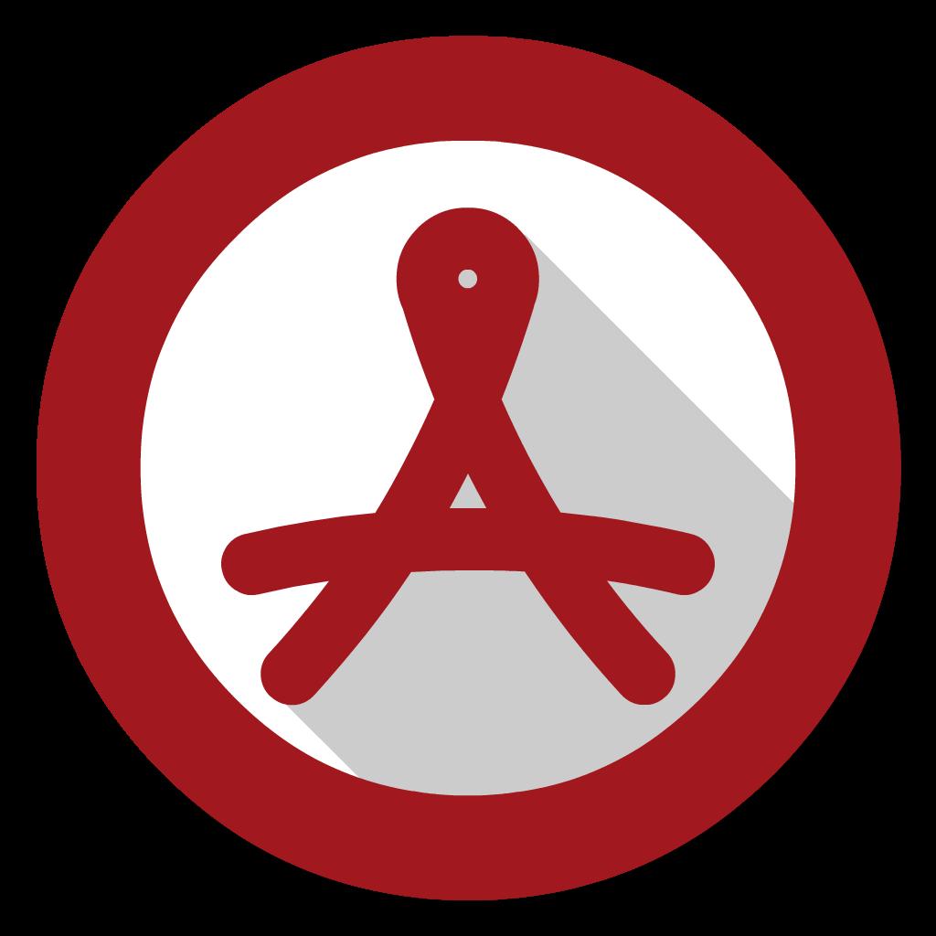 Adobe Acrobat Reader flat icon