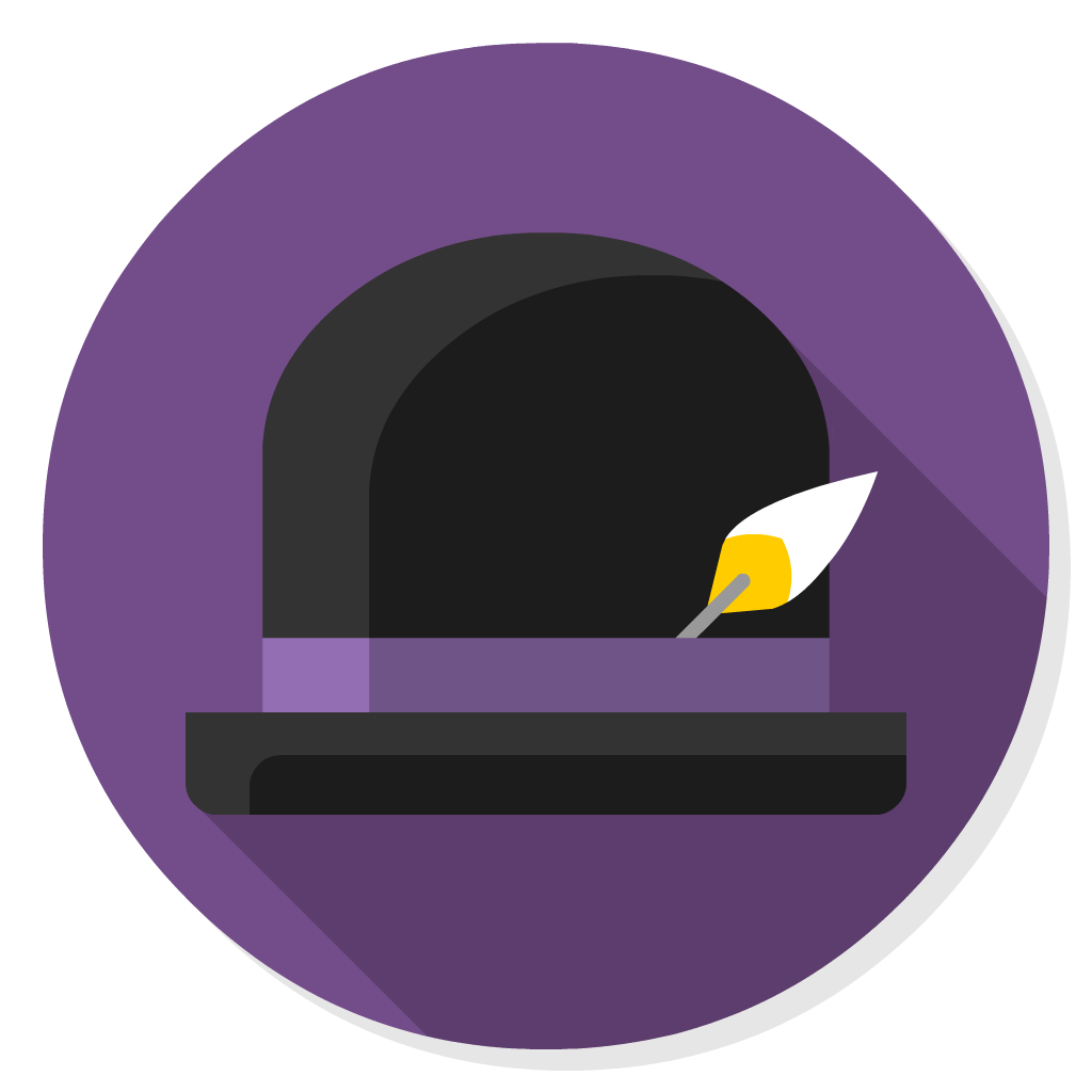 Alfred flat icon