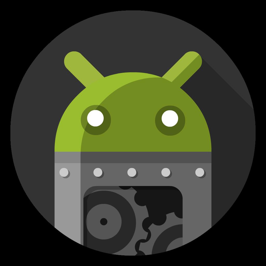 Android Studio flat icon