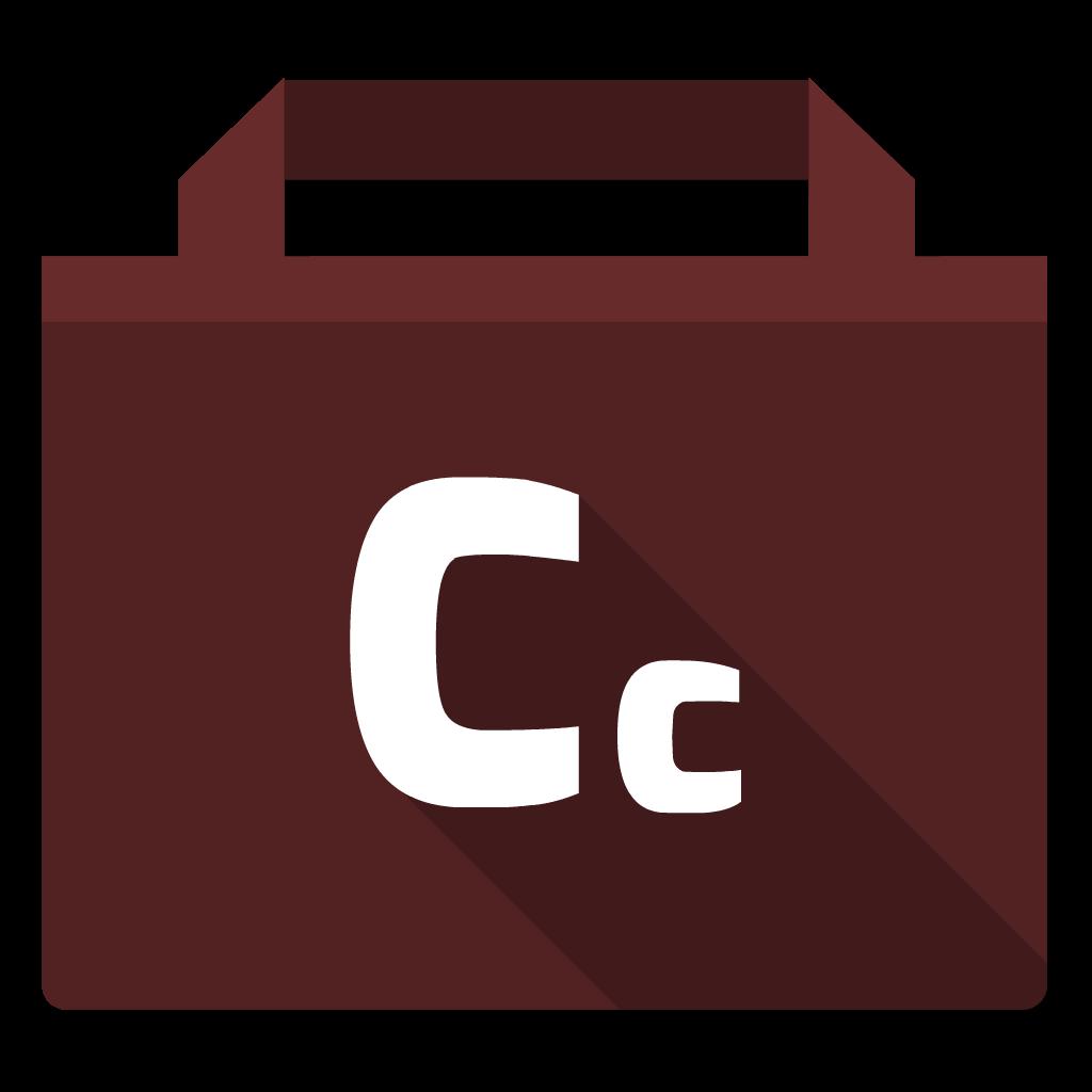 Adobe Creative Cloud flat icon