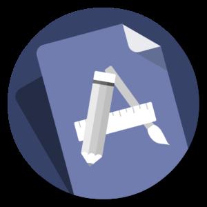 Default App flat icon