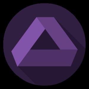 Affinity Photo flat icon