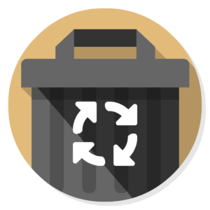 AppCleaner flat icon