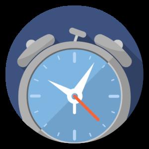 Awaken flat icon