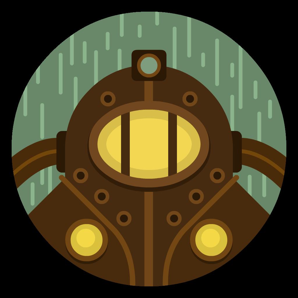 Bioshock flat icon