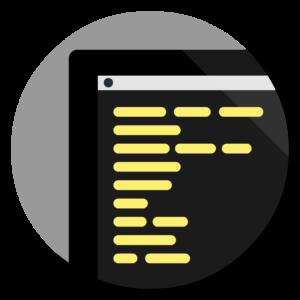 Console flat icon