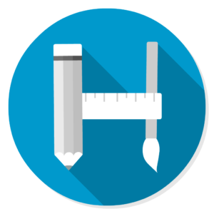Hack Store flat icon