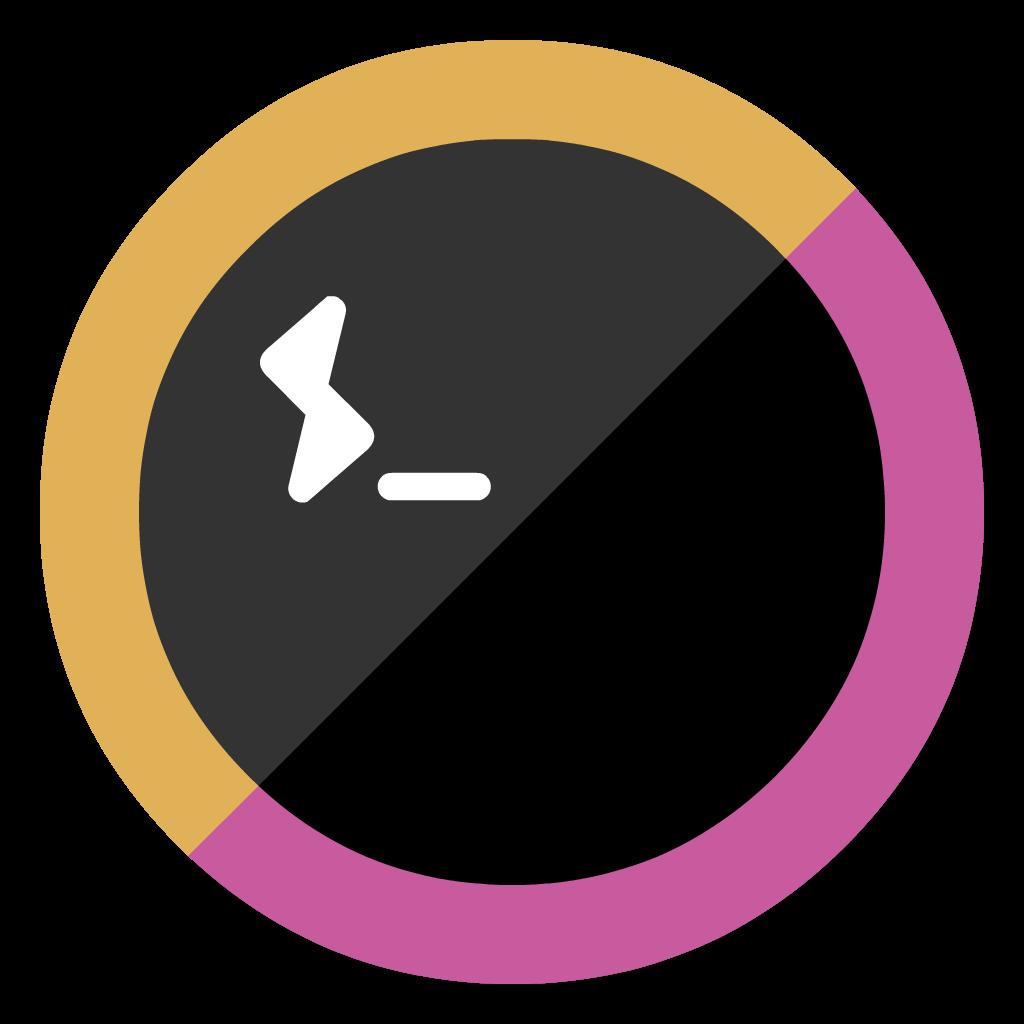 Hyperterm flat icon