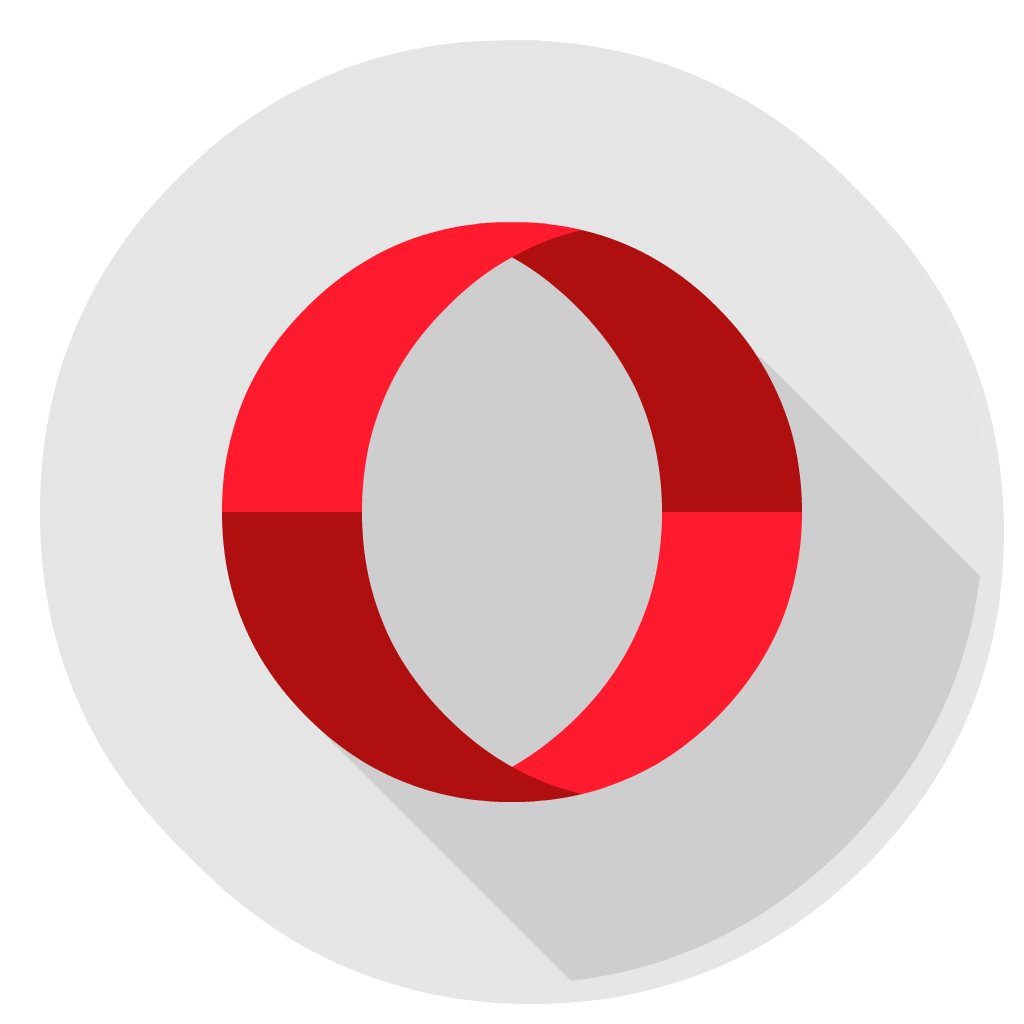 Opera flat icon
