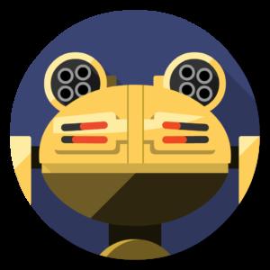 Robokill flat icon