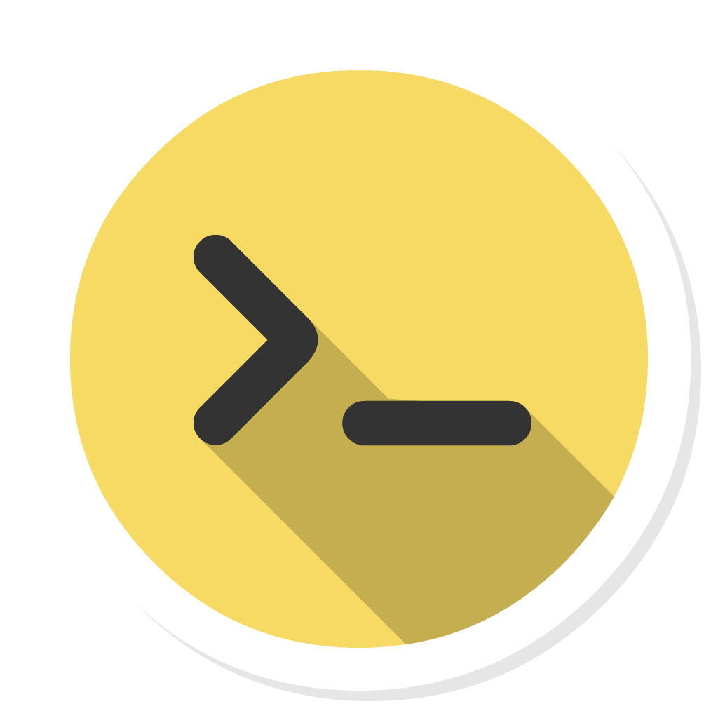 SSH Shell flat icon