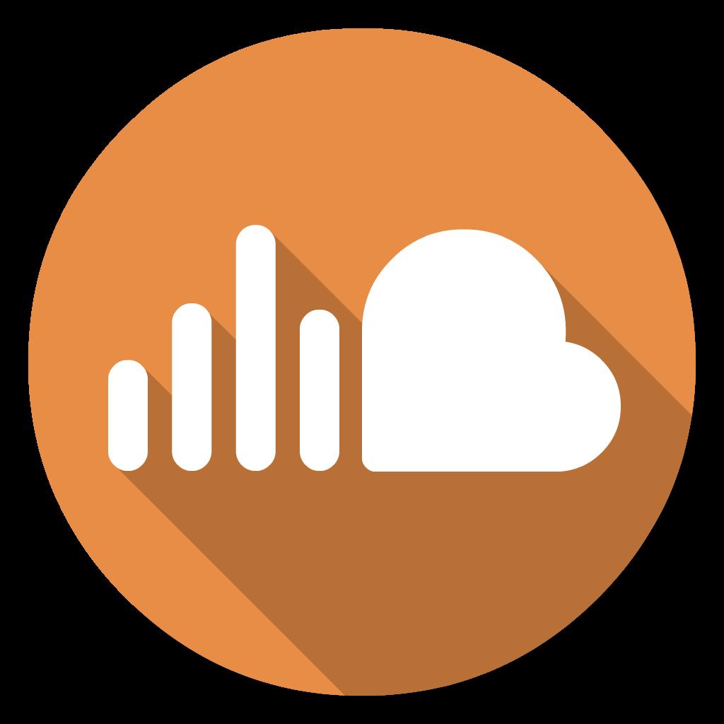 Soundcloud flat icon