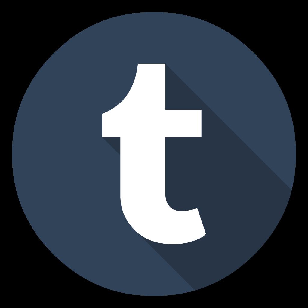 Tumblr flat icon