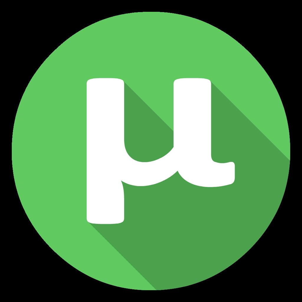 UTorrent flat icon