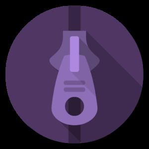 UnrarX flat icon