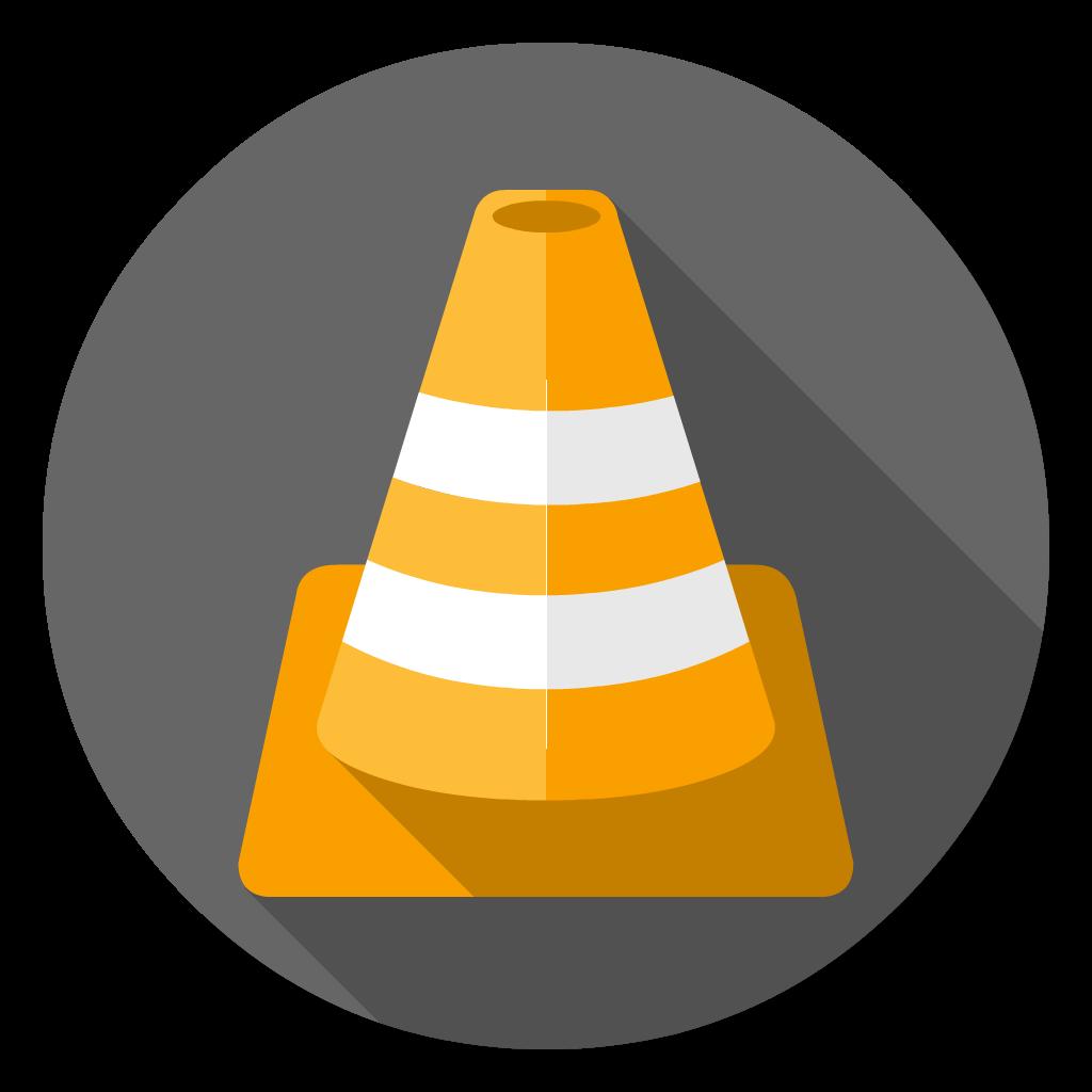 Videolan VLC flat icon