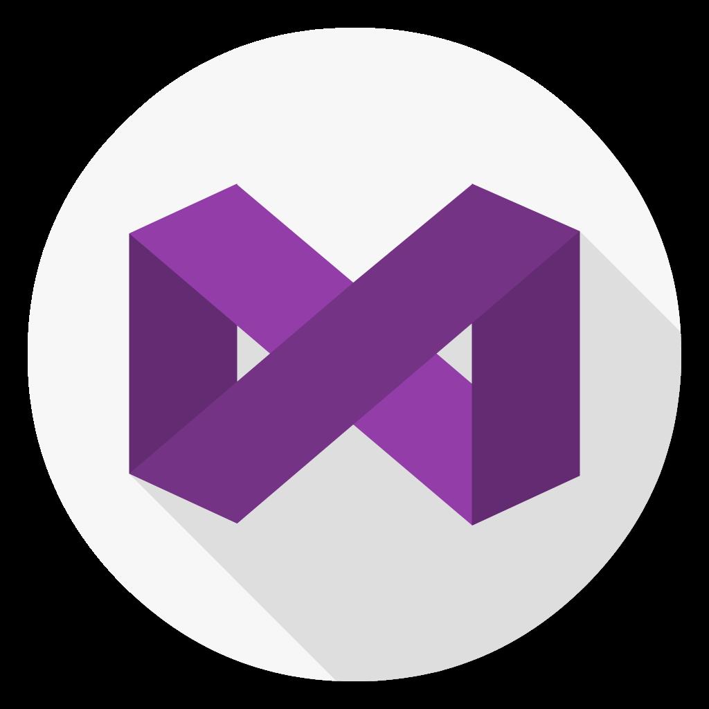 Visual Studio Community flat icon