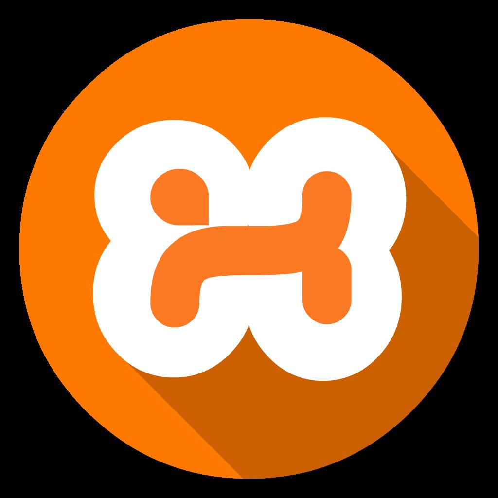 Xampp flat icon