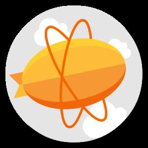 Zeplin flat icon