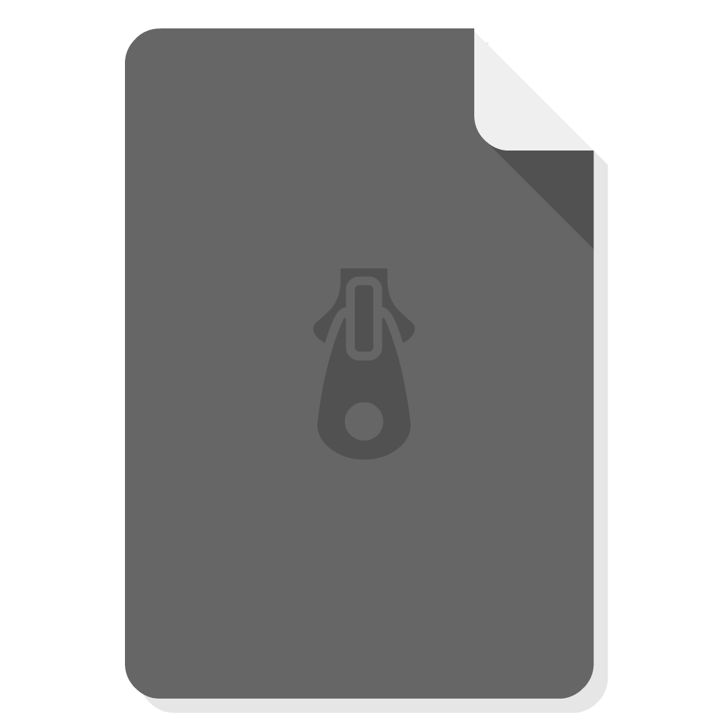 Archive Utility flat icon