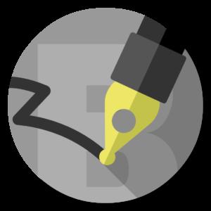 Byword flat icon