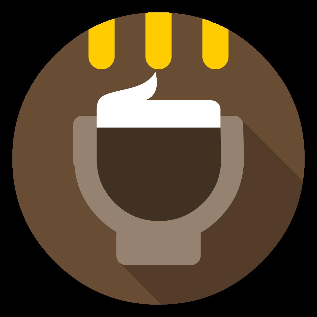 Caffeine flat icon