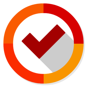 Clear flat icon