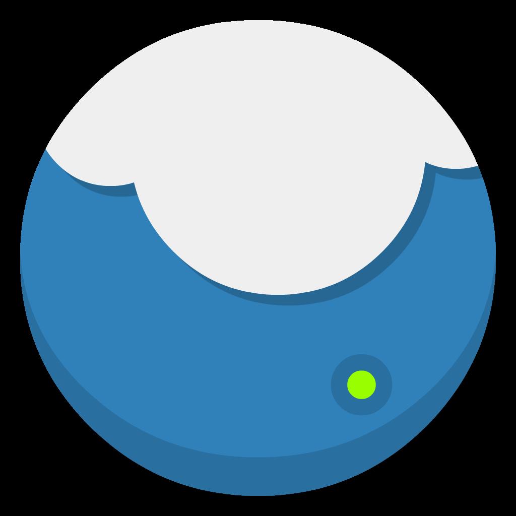 Cloudapp flat icon