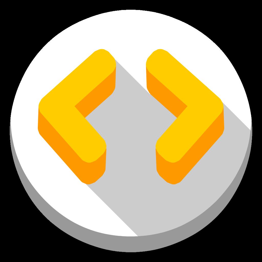 Codekit flat icon
