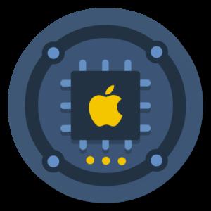 Cpu flat icon
