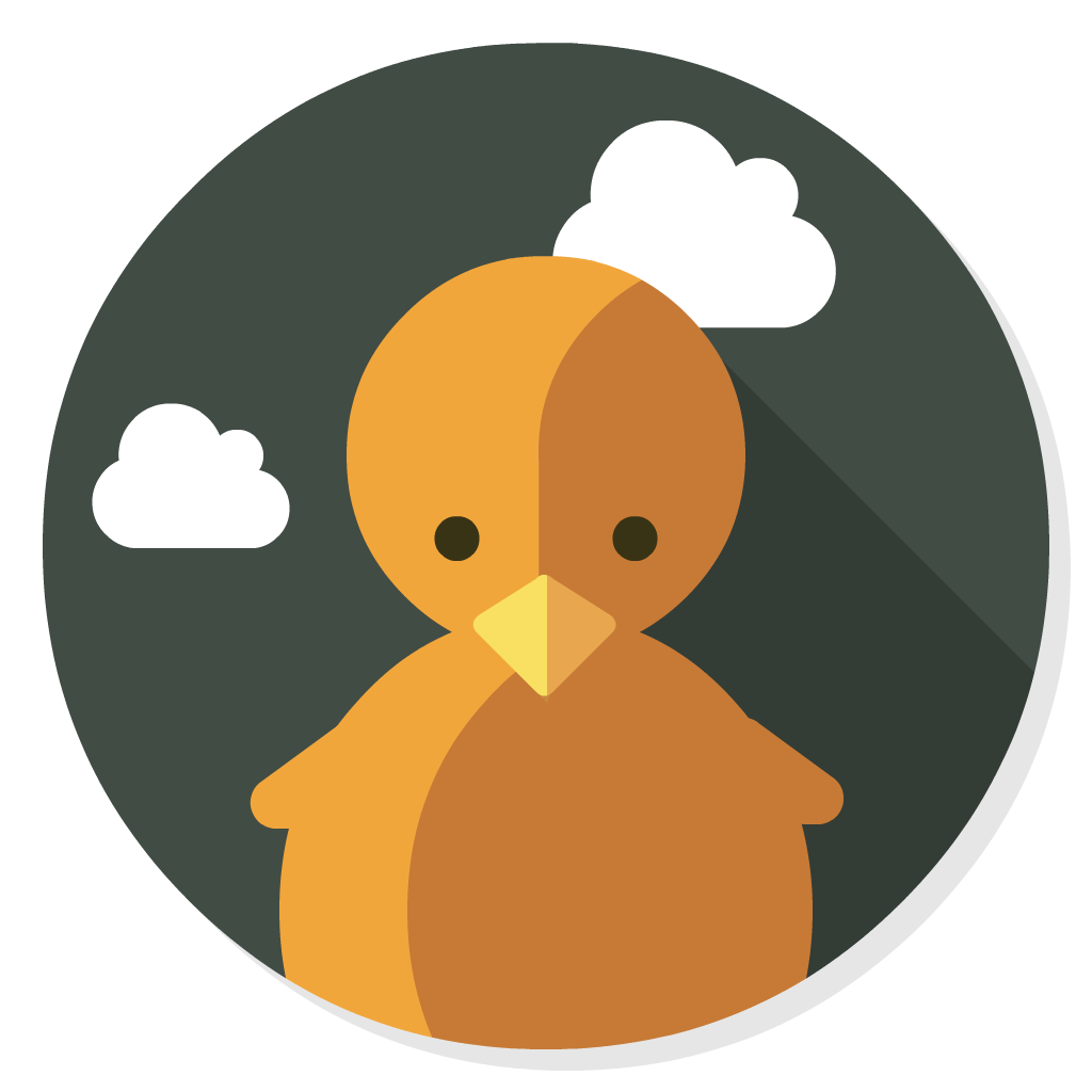 CyberDuck flat icon