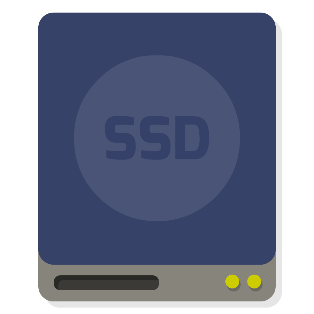 Drive SSD flat icon