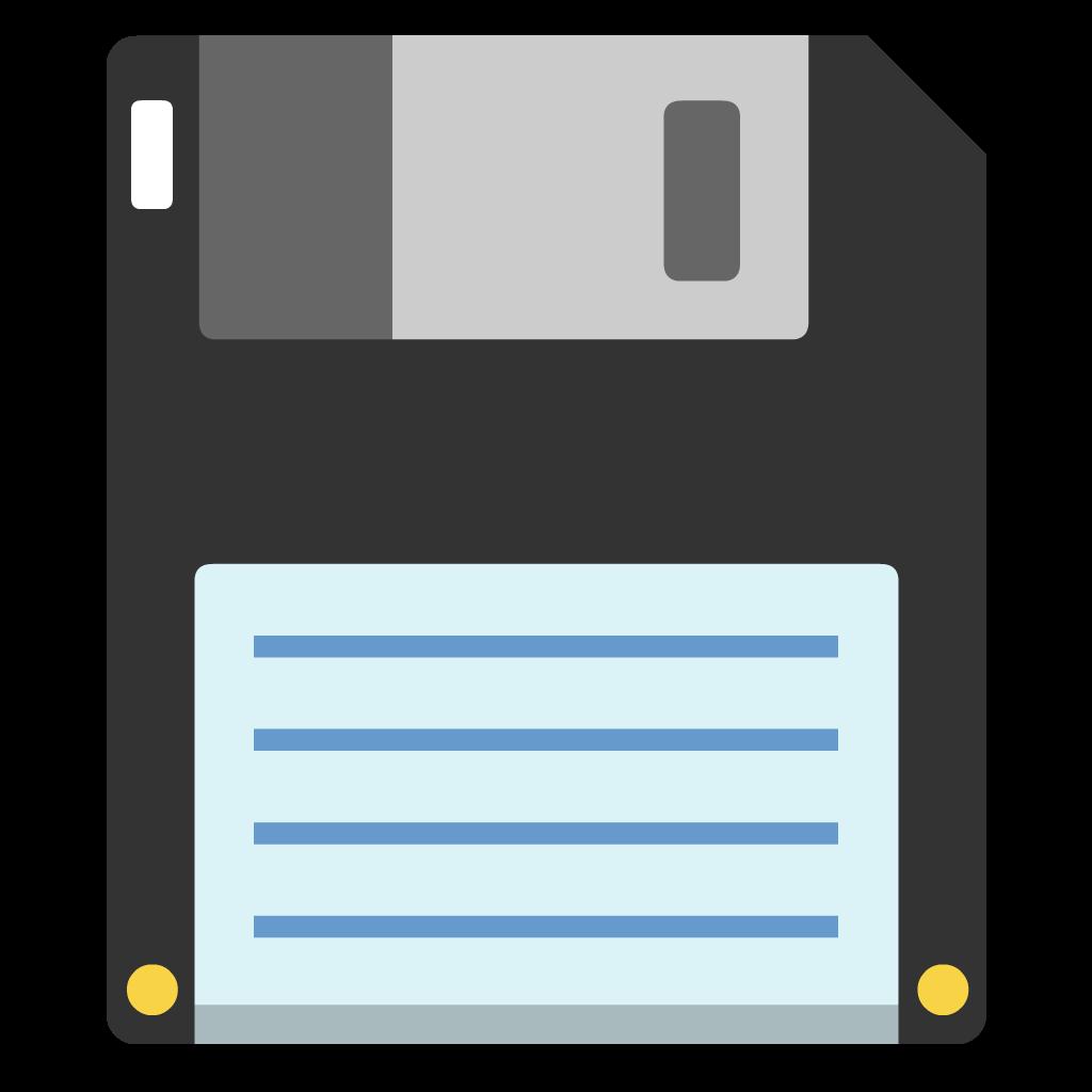 Floppy flat icon