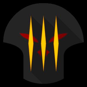 Diablo 3 flat icon