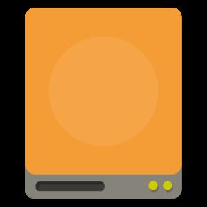 Drive External flat icon
