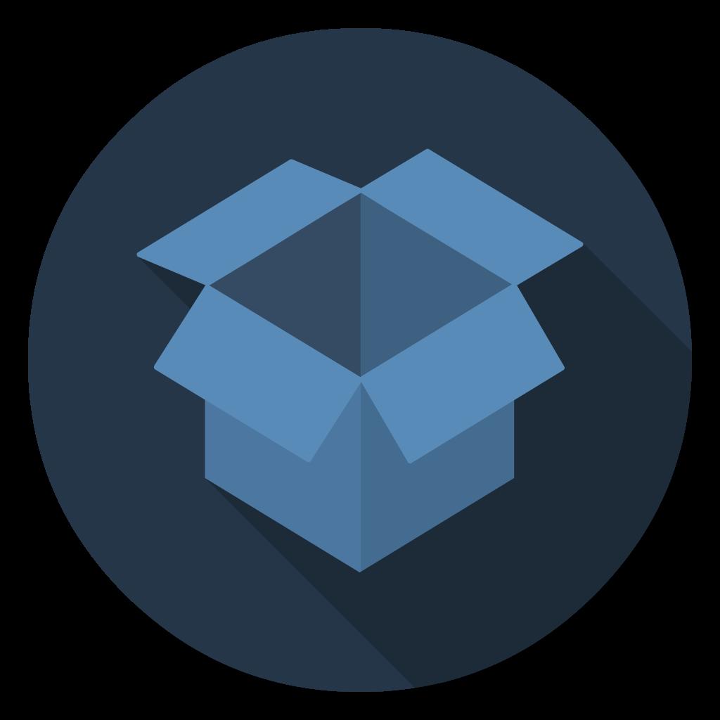 Dropbox flat icon
