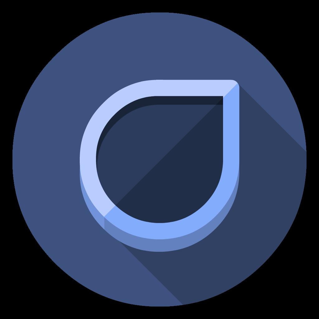 Droplr flat icon