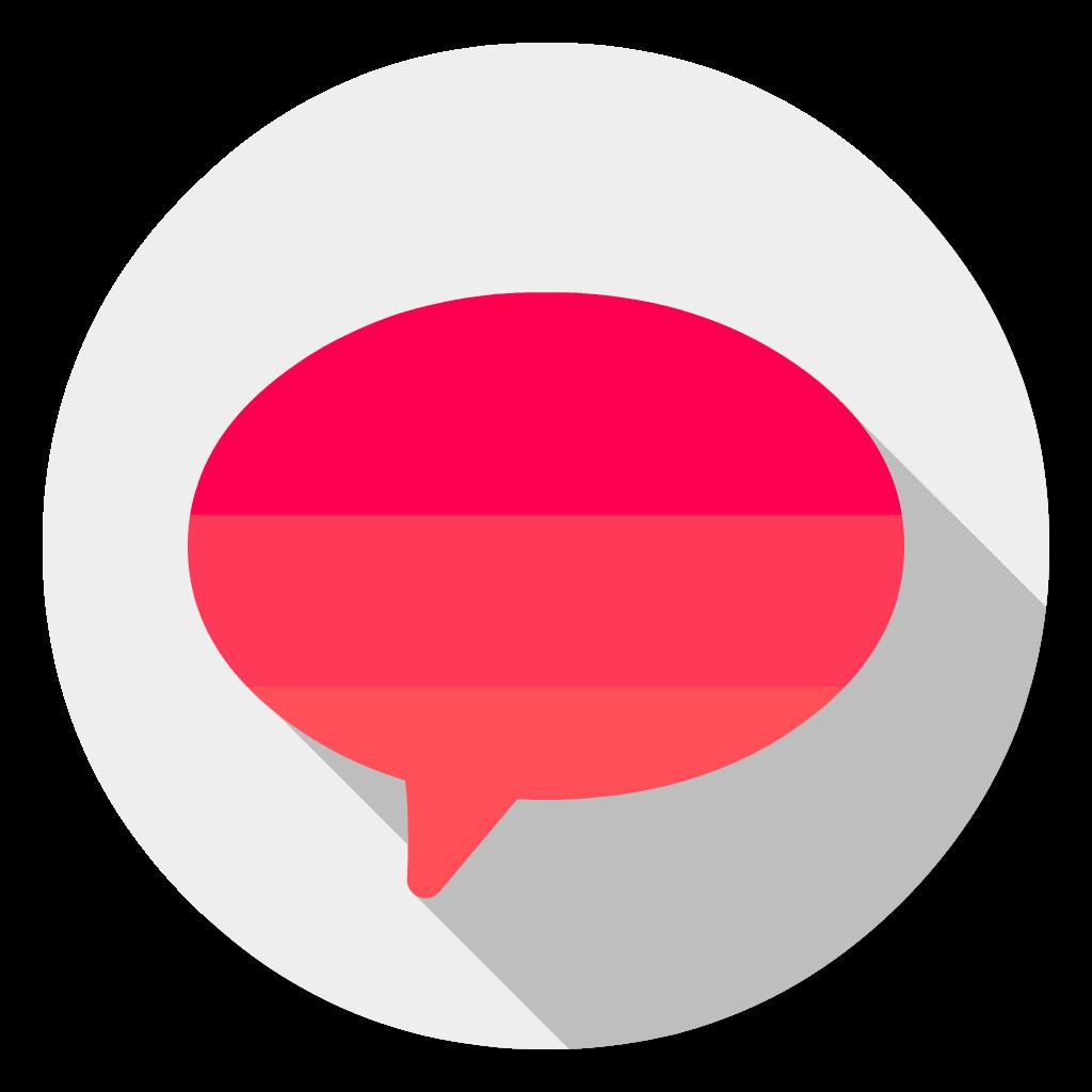 Flamingo flat icon