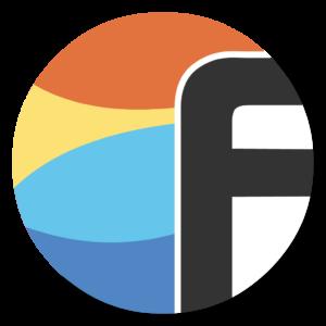 Flowdock flat icon