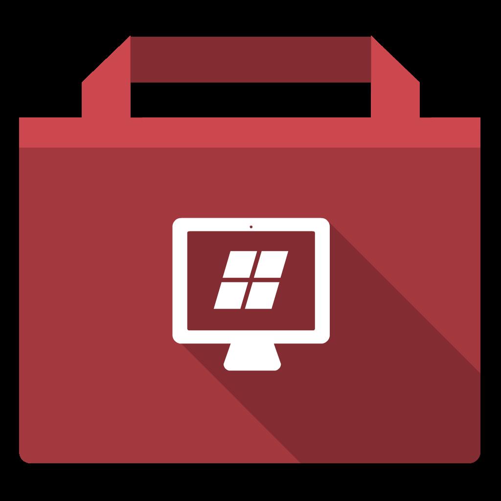 Parallels Desktop WIndows flat icon
