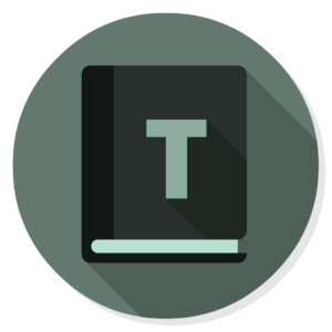 Font Book flat icon