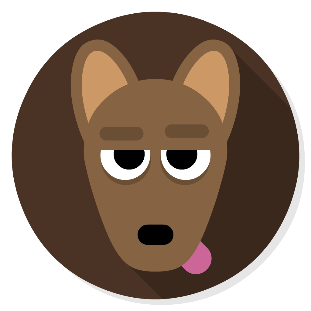 Gimp flat icon