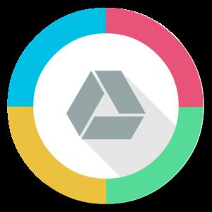 Google Drive flat icon