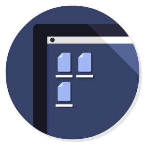 Folder – Home flat icon