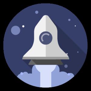 Launchpad flat icon